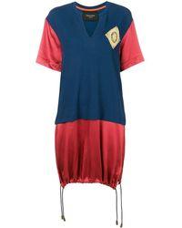 Mr & Mrs Italy カラーブロック Tシャツ - ブルー