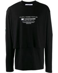 Givenchy - ダブルスリーブ Tシャツ - Lyst