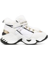 Emporio Armani Chunky High-top Trainers - White