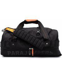 Parajumpers Logo-printed Duffle Bag - Black