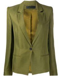 Haider Ackermann シングルジャケット - グリーン