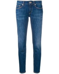 Dondup - 'Monroe' Cropped-Jeans - Lyst