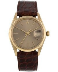 Rolex Reloj Oyster Perpetual Date de 34mm pre-owned - Metálico