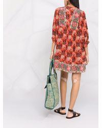 Ba&sh Gaia フローラル ドレス - オレンジ