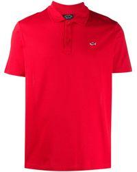 Paul & Shark Slim Fit Polo Shirt - Red