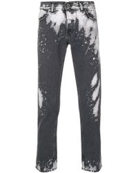 Diesel Black Gold - Cropped Slim Jeans - Lyst