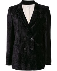 Forte Forte My Jacket ベルベットジャケット - ブラック