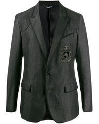 Dolce & Gabbana - パッチ ジャケット - Lyst
