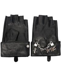 Karl Lagerfeld Перчатки С Цепочками - Черный