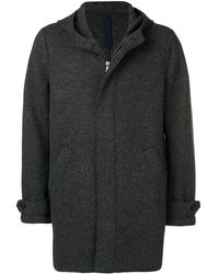 Harris Wharf London Single-breasted Fitted Coat - Grijs