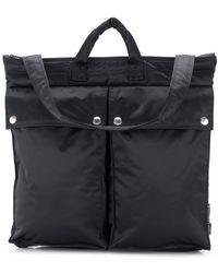 Mackintosh Black Nylon Porter Helmet Bag