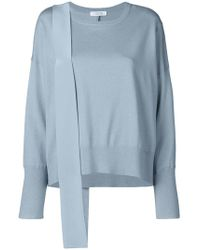 Dorothee Schumacher - Mixed Fabric Panelled Knit Top - Lyst