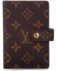 Louis Vuitton Обложка 1996-го Года Для Записной Книжки - Коричневый