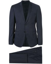 Emporio Armani Classic Two-piece Suit - Blue