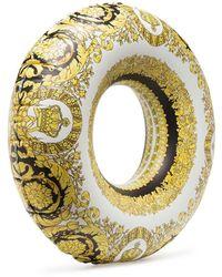 Versace Надувной Круг Для Плавания С Принтом Baroque - Желтый