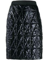 Karl Lagerfeld Стеганая Юбка - Черный