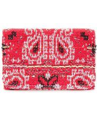 Coohem - Knit Tweed Bandana Cardholder - Lyst