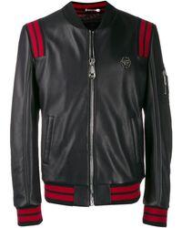 Philipp Plein ライダースジャケット - ブラック