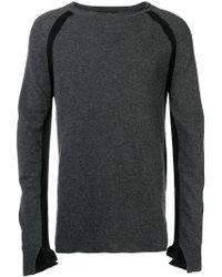 Andrea Ya'aqov - Fine Knit Fitted Sweater - Lyst