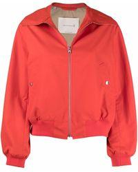 Mackintosh Polla Bomber Jacket - Orange