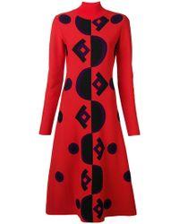 Marni - Geometric Knit Dress - Lyst