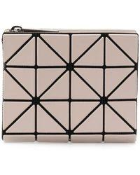 Bao Bao Issey Miyake Small Geometric-pattern Wallet - Multicolor