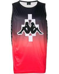 Marcelo Burlon Kappa-logo Top - Rood