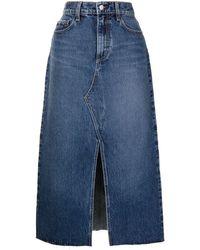 Nobody Denim Jupe Clementine en jean à taille haute - Bleu