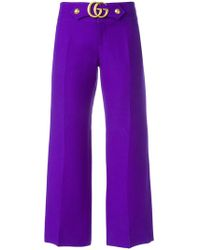 Gucci - Gg Marmont Flares - Lyst