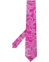 Etro - Cravatta con stampa paisley - Lyst
