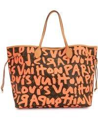 Louis Vuitton Сумка-тоут Neverfull Gm Pre-owned - Красный