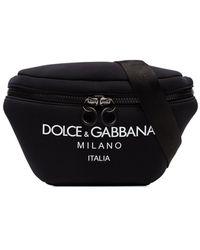 Dolce & Gabbana ロゴ ベルトバッグ - ブラック