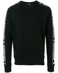 DSquared² - Sweatshirt mit Logo-Streifen - Lyst