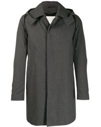 Mackintosh Raintec コットン フーデッドコート ショート Dunoon Hood Gm-1004fd - グレー
