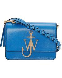 JW Anderson Сумка Anchor С Логотипом - Синий