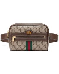 Gucci - Brown Ophidia GG Supreme Small Belt Bag - Lyst