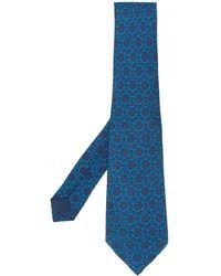 Hermès Cravatta anni 2000 - Blu