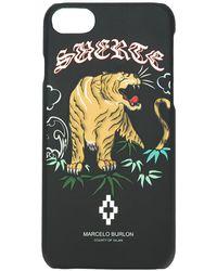 Marcelo Burlon Govinda Iphone 7 ケース - マルチカラー