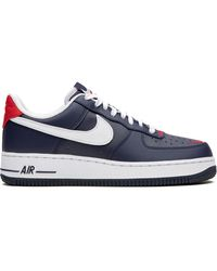 "Nike Air Force 1 '07 ""swoosh Pack- Usa"" スニーカー - ブルー"