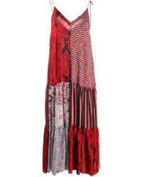 Lala Berlin - パッチワークドレス - Lyst