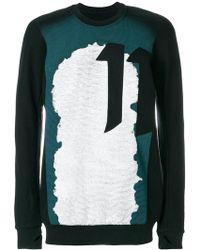 Boris Bidjan Saberi 11 - Printed 11 Sweatshirt - Lyst