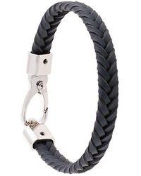 Tod's - Geflochtenes Armband - Lyst
