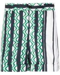 Neil Barrett - Abstract-print Swim Shorts - Lyst