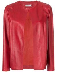DESA NINETEENSEVENTYTWO - Collarless Cropped Jacket - Lyst