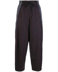 See By Chloé - Striped Tapered joggers - Lyst