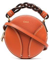 Chloé Мини-сумка Daria - Оранжевый