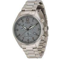 Timex Наручные Часы Waterbury Traditional Chronograph 42 Мм - Металлик