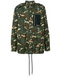 Palm Angels - Camouflage Shirt - Lyst