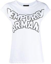 Emporio Armani - ロゴ Tシャツ - Lyst
