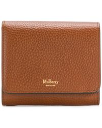 Mulberry - Pebbled Logo Purse - Lyst